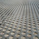 Iron Plate with Holes Stock Image