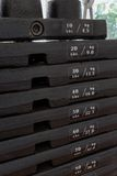 Iron Plates, Weight Training Machine Royalty Free Stock Photography