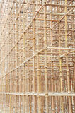 The iron pole scaffolds Royalty Free Stock Photo