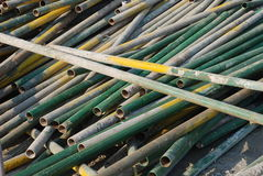 The iron poles Stock Photos
