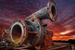 Iron Pump stock images