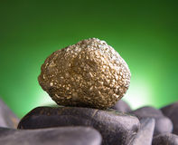 Iron pyrite Stock Photos