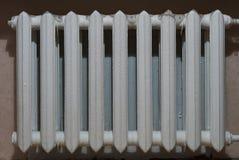 Iron radiator residential house Royalty Free Stock Photo