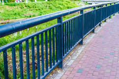 Iron Railing Royalty Free Stock Images