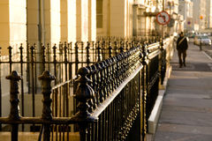 Iron railings Royalty Free Stock Images