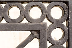 Iron railings detail Royalty Free Stock Photography