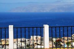 Iron railings over Santa Filomena Stock Image