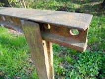 Iron railings Royalty Free Stock Images
