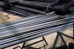 Iron rebar Royalty Free Stock Photos