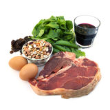 Iron-Rich Foods royalty free stock photos