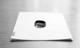 Iron ring Royalty Free Stock Photography