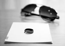 Iron ring Stock Photography
