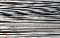 Iron rod armature for construction Stock Photography