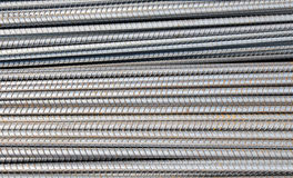 Iron rod armature for construction Stock Photo