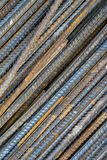 Iron rods. Closeup texture. Very detailed and deep DOF Royalty Free Stock Photos