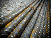 Iron rods Stock Images