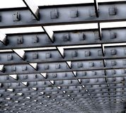 Iron Roof Girders Royalty Free Stock Photo