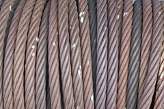 Iron rope background. Use for decorate or graphic design Royalty Free Stock Image