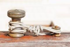 Iron rope mount Stock Photography