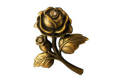 Iron rose Stock Images