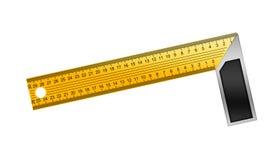 Iron Ruler Stock Image