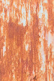 Iron rust with corrosion background Royalty Free Stock Photo