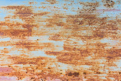 Iron rust with corrosion background Royalty Free Stock Photos