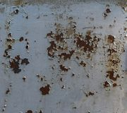 Iron rust texture. Iron rust metal texture, with old shabby bare paint royalty free stock photo