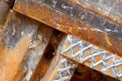 Iron rusty background Stock Images