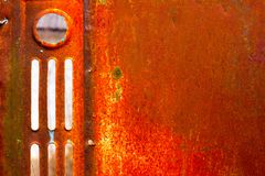 Texture rusty metal Royalty Free Stock Photography