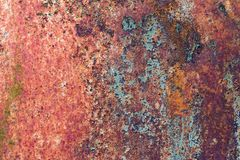 texture rusty metal Stock Photography