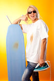 Iron`s Up, Dude Stock Images