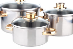 Iron Saucepan Royalty Free Stock Image