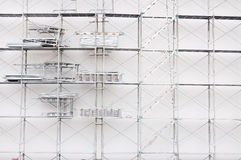 Iron Scaffold Royalty Free Stock Photography