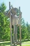 Iron sculpture Stock Photos