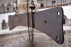 Iron Semantron Royalty Free Stock Photography