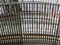 Iron sieve Stock Photo