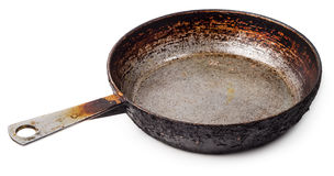 Iron skillet Royalty Free Stock Images