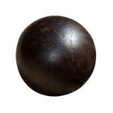 Iron sphere Royalty Free Stock Photos
