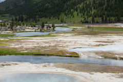 Iron Spring Creek Royalty Free Stock Images