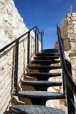 Iron staircase Royalty Free Stock Photos