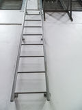 Iron staircase Royalty Free Stock Image