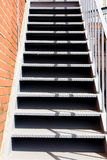 Iron stairs Royalty Free Stock Photo
