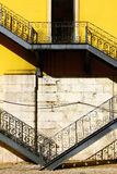 Iron stairs Royalty Free Stock Photos