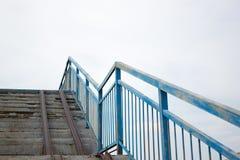 The iron stairway. To heaven Royalty Free Stock Photos