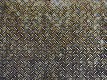 Iron star design on the hard material texture.  royalty free stock images