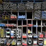 Iron steel bar Royalty Free Stock Images