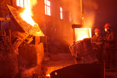 Iron and steel industry Royalty Free Stock Photos