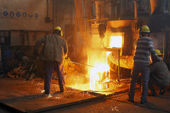 Iron and steel industry Stock Image