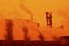 Iron and steel industry Stock Photography